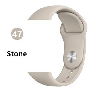 NEW Stone Sport Silicone Band Apple Watch